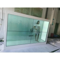 "Quality 700nits 1920x1080 86"" Transparent Lcd Showcase For Real Products for sale"