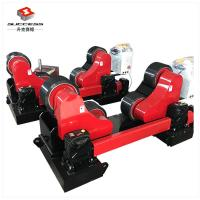 Quality 20T Self Aligning Pipe Welding Rotators With 1.5KW Single Motor Low Noise for sale