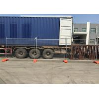 Quality Cheapest Temporary Fencing Panels 2.1mx2.4m OD32mm*1.40mm for sale