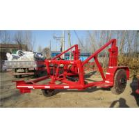 Buy cheap Drum Trailer Cable Winch Cable Drum Trailer from wholesalers