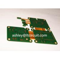 Buy Multilayer Mix Rigid Flexible PCB L2-18 Gold Plating Blind / Burried Vias at wholesale prices