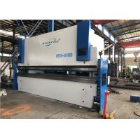 Quality 400 Ton 6m Cnc Hydraulic Press Brake Machine With Flat Floor No Foundation for sale