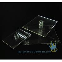 Quality CD (102) 3 tier acrylic square cake stand for sale