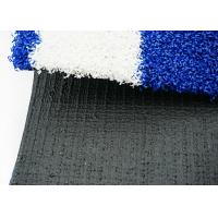 Buy 20mm Fitness Facilities Gym Artificial Turf For Sled Training Blue And White at wholesale prices