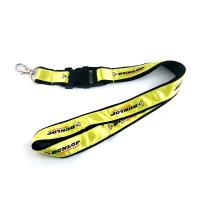 Quality reflecting text woven lanyards as promotional gift for sale