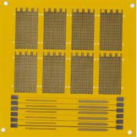 Quality Polyimide copper flexible pcb board 1 OZ and Flex Print Circuit Board 0.2mm for sale