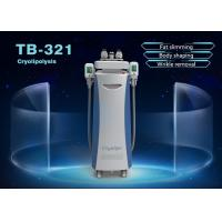 China 1800W Vertical 5 Handles Cryolipolysis Fat Freeze Slimming Machine 10.4 Inch Touch Screen on sale