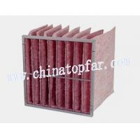 Buy cheap Pocket air filter,Bag type air filter,air filteration equipment,extended surface from wholesalers
