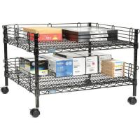 Buy Standard Size Mobile Rack Unit / Lightweight Office Table Shelving at wholesale prices