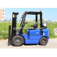 Quality Sideshift Propane Powered Forklift , Propane Fuel System Forklift 3 Stage 6m Container Mast for sale