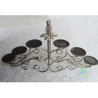 Buy CH-30-2 etched Acrylic hurricane candle holders at wholesale prices