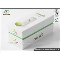 Art Paper Electronics Packaging Boxes Matt Lamination Printing Handling Fade Resistant