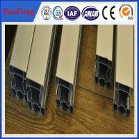 Quality Hot! manufacture aluminum alloy extrusion profiles, color anodized aluminum extrusion for sale