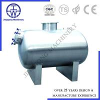 China Horizontal Stainless Steel Storage Tanks 10000L Storage CIP Rotation Ball on sale