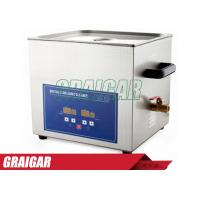 Quality Dental Lab 360W 19.8 L Digital Ultrasonic Cleaner Machine with Free Cleaning Basket PS-G60A for sale