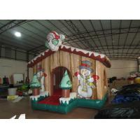 Quality Children Air Blown Christmas Decorations , High Durability Funny Christmas Inflatables for sale