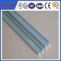 Quality 2015 Hot-selling Flat aluminium floor lighting profile for flex led strip made in China for sale