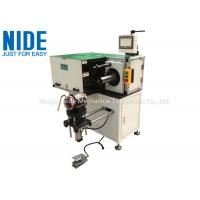 Quality Automatic Horizontal Single Side Stator Lacing Machine , Stator OD Ranges from 175~300mm for sale