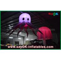 Quality Changeable Color LED Inflatable Stage Octopus For Party And Wedding for sale