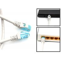 Quality Outdoor Rated Long Or Short Cat6 Patch Cables UTP Category 6 Ethernet Cable for sale