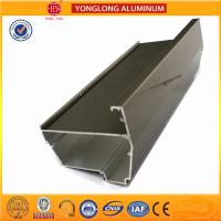 Quality Electrolytic Coated Aluminum Window Frame Profile T5 , T6 Temper for sale