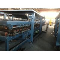 Quality EPS and Rockwool Sandwch Panel Production Line Chain Driven System for sale