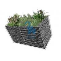 Quality Large Gabion Rock Baskets‎ , Retaining Wall Rock Cages With 10pcs Closing Ties for sale