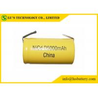 Buy High Capacity Nickel Cadmium Battery Size D 5000mah Rechargeable Battery at wholesale prices