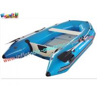 China ODM 0.9MM PVC tarpaulin Small Inflatable Kayak Boat Toys, Inflatable Fishing Boat on sale