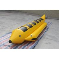 Quality 4.9x1.1m Inflatable Water Games ,  Inflatable Flying Fish Water Banana Boat For 5 People for sale