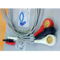Buy Din 3 leads ECG Leadwires medical equipment Accessories , Holter ECG Cable at wholesale prices