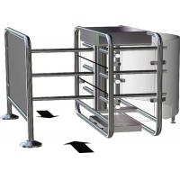 Quality Electronic RFID Half Height Turnstile Barrier Gate With 90 Degree Rotating for sale