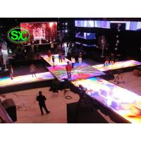 Quality Fashionable Indoor Dance Floor With 6.25mm Pixel Pitch , 250mm*250mm interactive led dance floor screen for sale