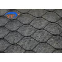 Quality Black Oxide Balustrade Cable Mesh , Stainless Steel 304 Zoo Security Mesh Fencing for sale