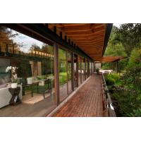 Quality WPC pavilion New type of outdoor anticorrosive won a solid wood Garden pavilion for sale