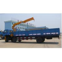 Buy Euro 3 210hp 12T Dongfeng 6x2 Cargo Crane truck at wholesale prices