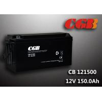 Quality SLA CB121500 deep cycle 12v battery , 150AH Long Life Lead Acid Battery For EPS for sale