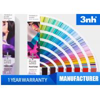 Quality Coated / Uncoated CU Colour Shade Card Formula Guide With 1867 Colors for sale