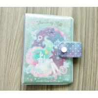 Quality Luxury Travel Card Holder / Glittering PVC Notepad Or Diary Book Protective Cover for sale
