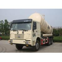 Quality 16CBM Collecting Sewage Sludge Vacuum Pump Septic Tank Cleaning Truck LHD 6X4 for sale