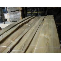 Quality Natural Knotty Pine Wood Veneer Sheet Crown/Quarter Cut for sale