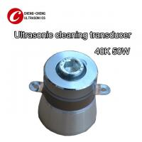 Quality 40k 50w Piezoelectric Ultrasonic Transducer Ce Rosh Listed For Making Cleaner for sale