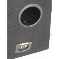 China Powered 500 Watt Car Subwoofer In Box , Single Car Subwoofer Enclosure for sale