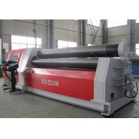 Quality Heavy Duty Aluminium Sheet Rolling Machine , Hydraulic Roll Bending Machine 37KW for sale