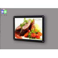 Quality Edge Lit Slim Magnetic Light Box Display Menu Fast Food Signboard For Restaurant for sale