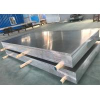 Aerospace Bare Flat Aluminum Sheet High Strength 7075 In Silver Color for sale