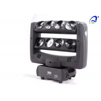 China 8 * 10W Quad Color White Dmx Moving Head Lights LED Beam For Disco Night Club on sale