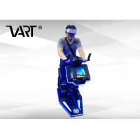 China 1 Player Virtual Reality Equipment , 9D VR Electric Bike For Gym on sale