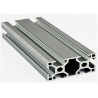 Construction Stock Aluminum Extrusion Profiles , 6005a Extruded Aluminium Channel for sale