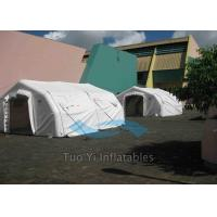 Quality Large Advertising Inflatable Tents Customized Lightweight Emergency Shelter for sale